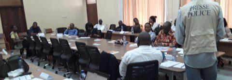Echange entre les DDH et journalistes de Kinshasa et les autorités nationales