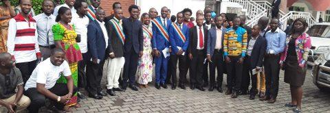 Des jeunes de Goma membres de Jeunes Nous Pouvons
