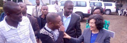LA CHEFFE DE LA MONUSCO(RDC)  RECOIS UNE DELEGATION DE PPI  AUS SUD-KIVU, RDC