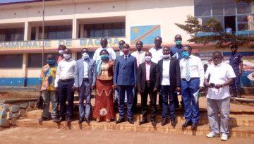 BUKAVU : Le Comité de suivi des mécanismes des Droits Humains rend une visite de courtoisie au Bourgmestre a.i de la Commune de BAGIRA à quelques jours de son investiture.