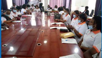 Commémoration de la journée internationale des femmes défenseures des droits humains, PPI représenté à Goma.